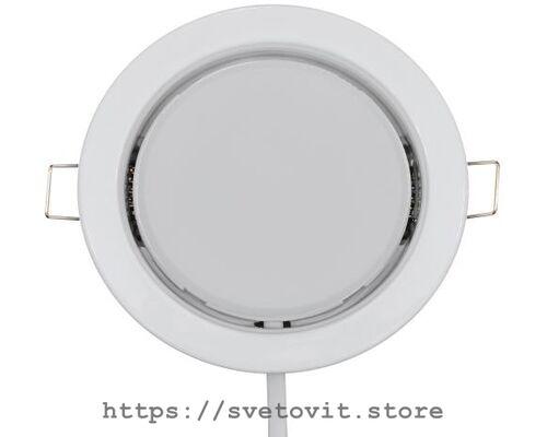 Светодиодный светильник встраиваемый GX53 White