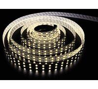 Светодиодная лента 3528 герметичная 9.6W 12V теплый свет 72916, 73719, 73578