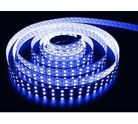 Светодиодная лента 3528 герметичная 9.6W 12V синий свет 72953