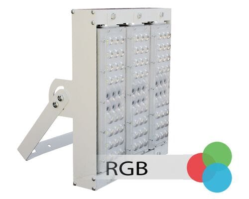 Прожектор архитектурный лучевой 210W 24V IP66 30,60,90° на светодиодах OSRAM (Германия) RGB