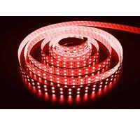 Светодиодная лента 3528 негерметичная 9.6W 12V красный свет 73573