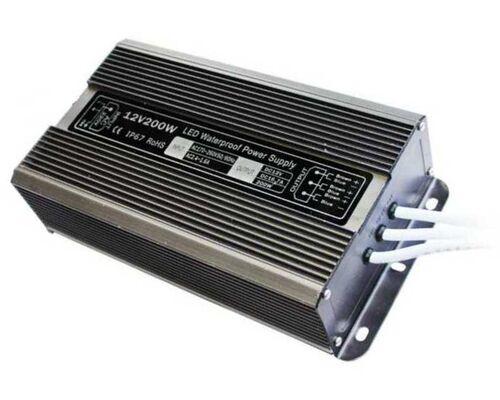 Блок питания 12V 200W IP67 71737 (B7L200ESB)