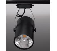 Трековый светильник 30W 220V черный корпус нейтральный свет 82931