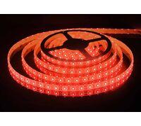 Светодиодная лента 3528 герметичная 4.8W 12V красный свет 75725