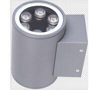 Светодиодный светильник двусторонний D90 2*6W 220V IP65 на светодиодах OSRAM (Германия)