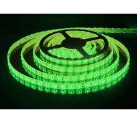 Светодиодная лента 3528 герметичная 4.8W 12V зеленый свет 75786