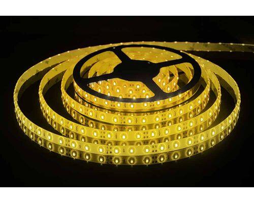 Светодиодная лента 3528 герметичная 4.8W 12V желтый свет 75712