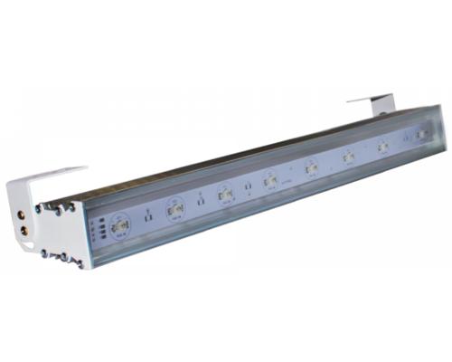 Cветильник линейный лучевой L500 P-04 24W 24V IP65 10,25,45,60° на светодиодах CREE (США) RGB