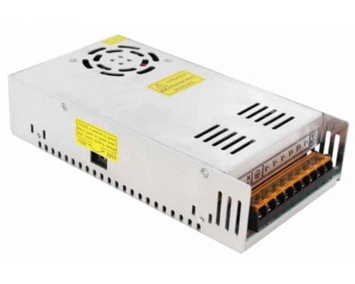 Ecola Блок питания для св/д лент 12V 400W IP20 215х114х51 вентилятор (интерьерный) B2L400ESB
