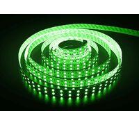 Светодиодная лента 3528 герметичная 9.6W 12V зеленый свет 73581