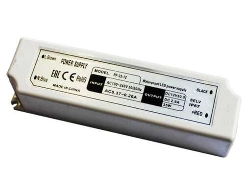 Блок питания 12V 30W IP67 29876 (B7L030ESB)