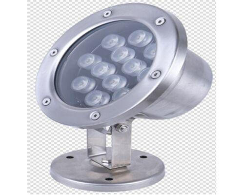 Светодиодный светильник подводный D160 12W 12V IP68 на светодиодах OSRAM (Германия) RGB