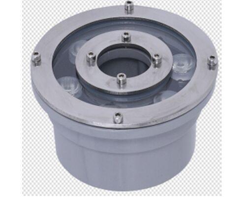 Светодиодный светильник подводный D130 6W 24V IP68 на светодиодах OSRAM (Германия)