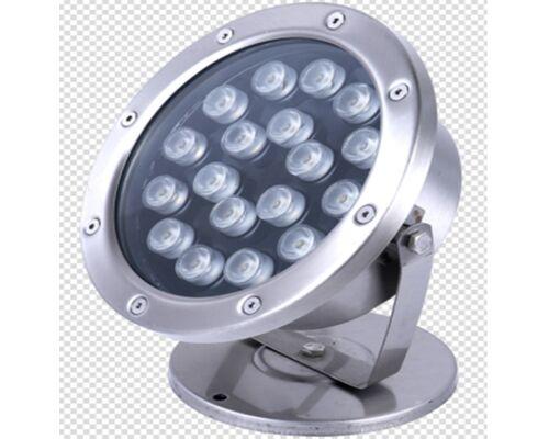 Светодиодный светильник подводный D175 18W 24V IP68 на светодиодах OSRAM (Германия) RGB