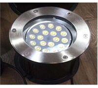 Светильник встраиваемый D200 18W 24V IP65 на светодиодах OSRAM (Германия) RGB DMX