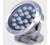 Светодиодный светильник подводный D190 18W 24V IP68 на светодиодах OSRAM (Германия) RGB