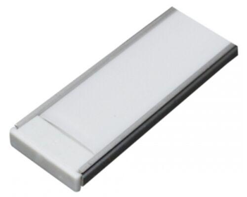 Алюминиевый профиль для светодиодной ленты AL-7 (2м) широкий 93190