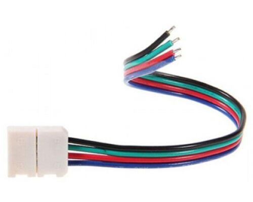 Коннектор 15см зажим-провод 4-х конт SMD5050 RGB 45321