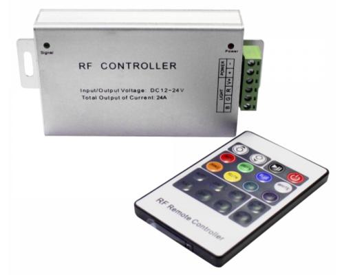 Контроллер RGB 12/24V 144/288W c радиопультом управления 71509, 98046