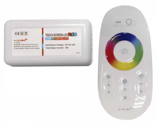 Контроллер RGB 12/24V 216/432W с сенсорным радиопультом 71512