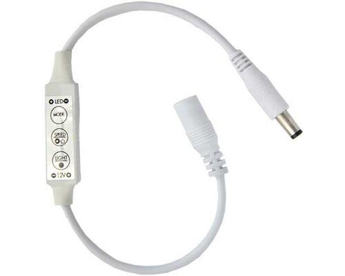 Диммер 12V 72W 6A на проводе с кнопками для управ-я с автомат. режим 64507 (CDM06BESB)