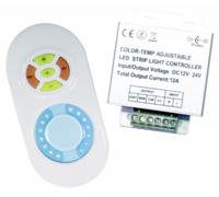 DOUBLE контроллер сенсорный для светодиодного оборудования 12/24V 144/288W RF 5 кн. 48795, 97210