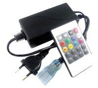 Контроллер RGB 220V 1000W 4.5A с ИК пультом 70831 (CR141KESB)