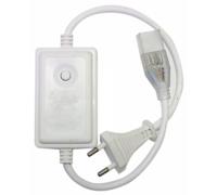 Контроллер RGB 220V 14x7 200W 0.9A с переключ. режимов 59080 (CH1402KSB)