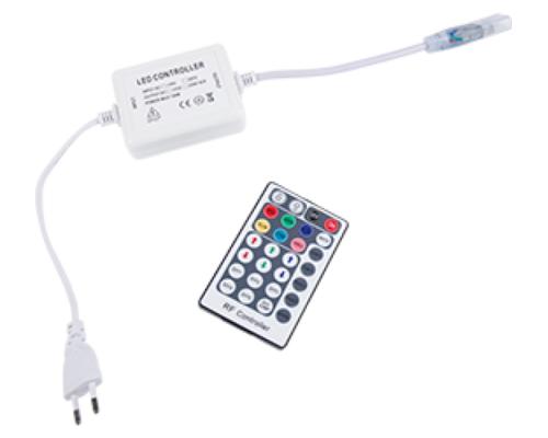 Контроллер 220V 14x7 600W 2.7A RGB с радиопультом RF1406KSB