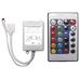 Контроллер RGB 12/24V 72/144W c ИК пультом 51342