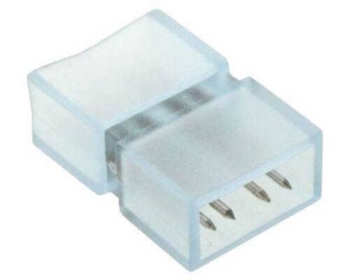 Ecola Коннектор 220V 14x7 4-конт для ленты IP68 RGB SCNM14ESB