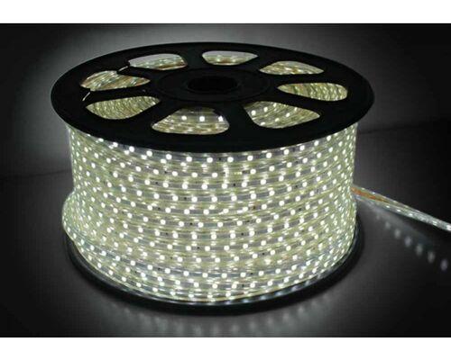 Светодиодная лента 220V 18W IP68 холодный свет 70314