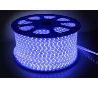 Светодиодная лента 5050 герметичная 14.4W 220V синий свет 59022, 73670