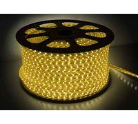 Светодиодная лента 5050 герметичная 14.4W 220V желтый свет 59025