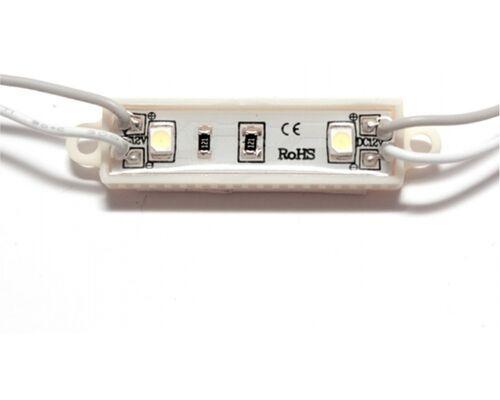 Светодиодный модуль герметичный 2 SLT3528 0.24W 12V холодный свет 73753