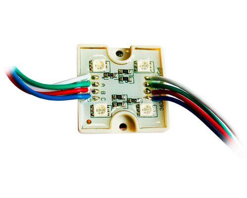 Светодиодный модуль герметичный 4 SLT5050 0.8W 12V (RGB) 30913