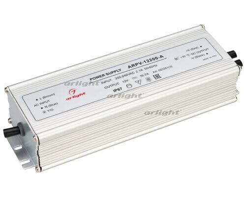 Блок питания ARPV-12200-A (12V, 16.7A, 200W)