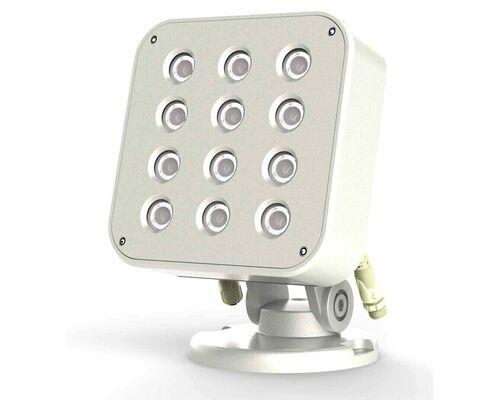 Cветильник направленный SQUARE COMPACT 24Вт 24V IP66 - RGBW упр-е dmx512 Uni Hauss