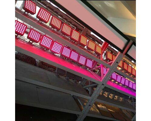 Cветильник направленный SQUARE COMPACT 27Вт 24V IP66- RGB упр-е dmx512 Uni Hauss